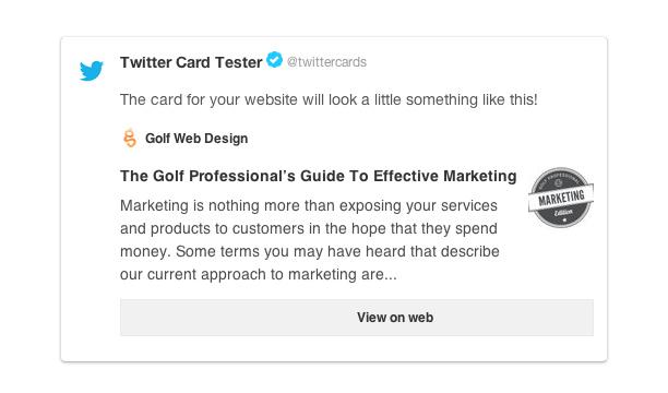 Understanding Twitter Cards